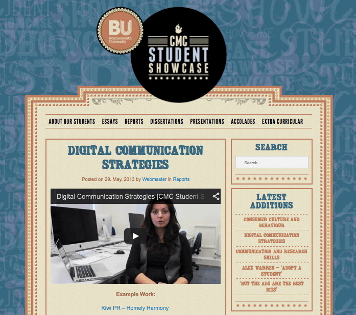 DCS featured on the CMC Student Showcase