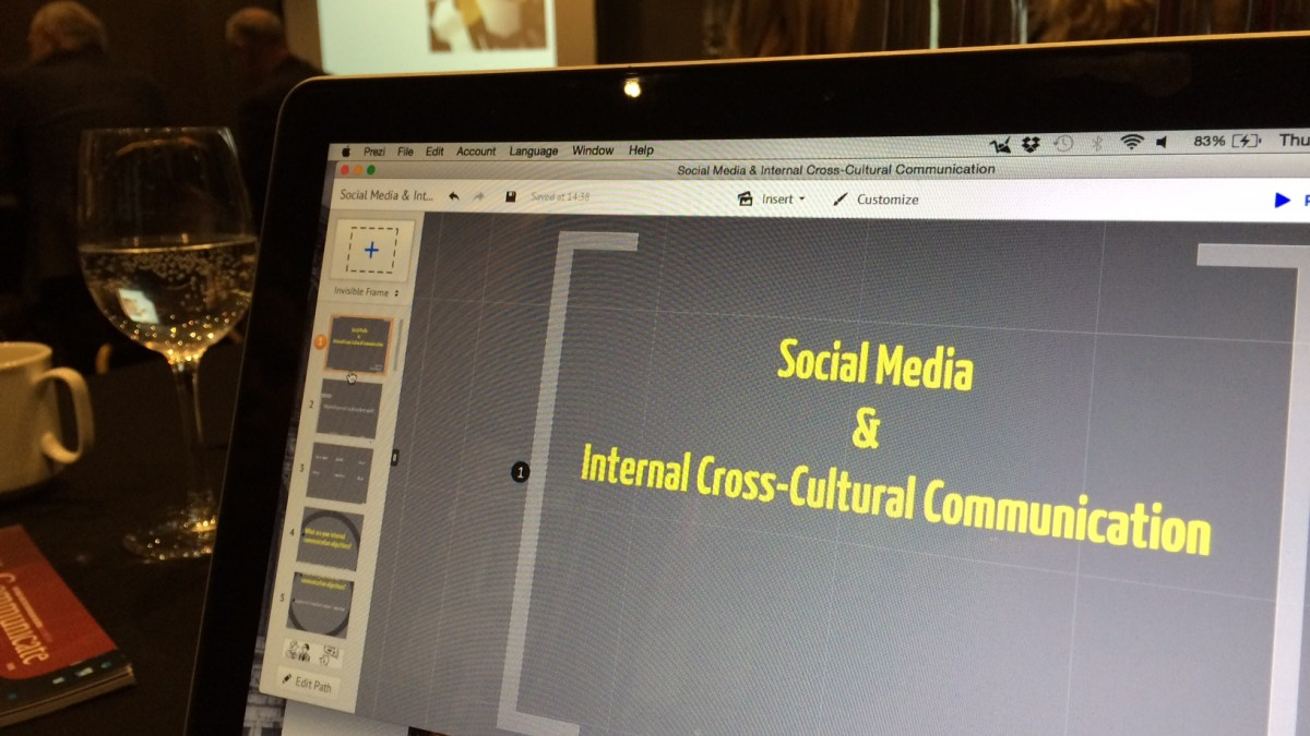 How social media can help internal cross-cultural communication