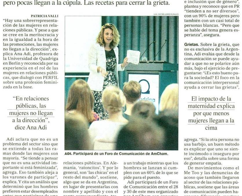 In the Argentinian media