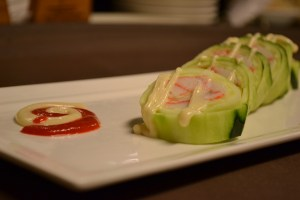 Salad Roll No Rice Sushi by Anaba Japanese