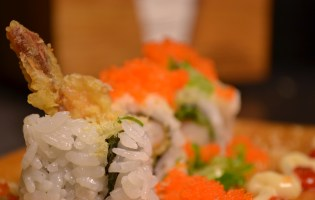 Shrimp Tempura Roll Sushi by Anaba Japanese