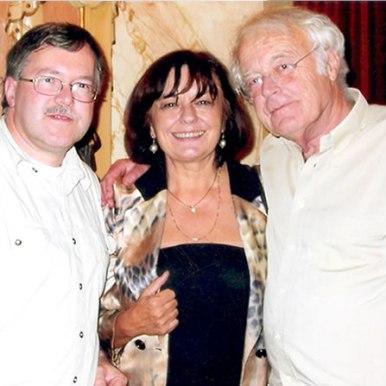 Cu poetul olandez si traducatorul in olandeza, Rutgen Kopland si Jan Willem Bos