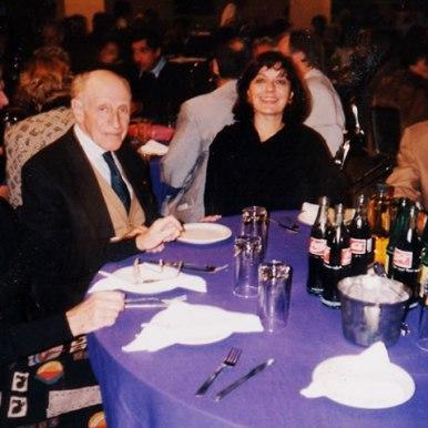Dupa retragerea canditaturii la prezidentia International PEN la 63-lea Congres Mondial - Guadalajara (Mexic, 1996)