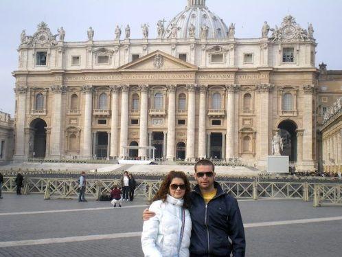 Roma. Plaza de San Pedro