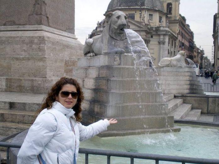 Roma. Fuente del Pueblo