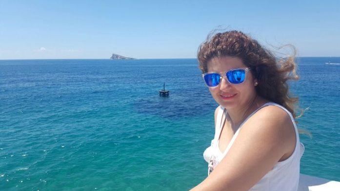 Vistas a la Isla de Benidorm