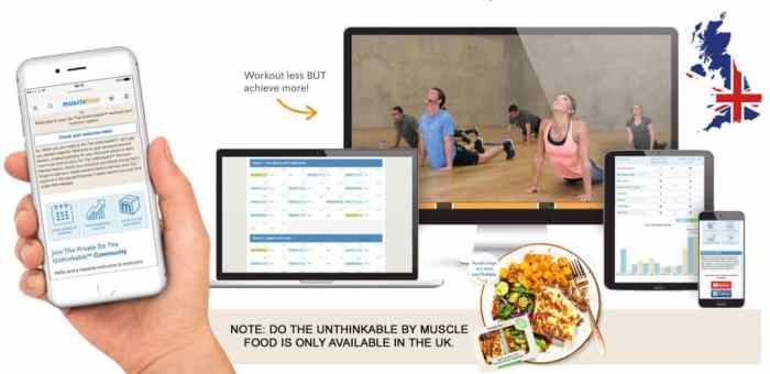Image result for musclefood do the unthinkable