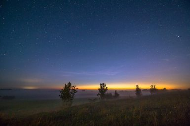 Estonia at night