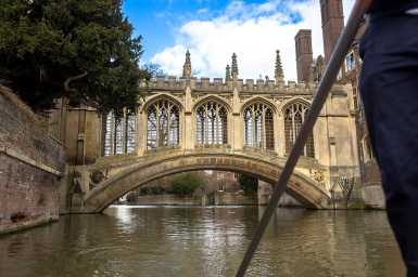 The Bridge of Sighs, St John's College, Cambridge