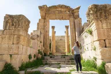 The ruins of Jerash, Jordan