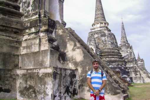 The first time I went to Thailand was in 2006