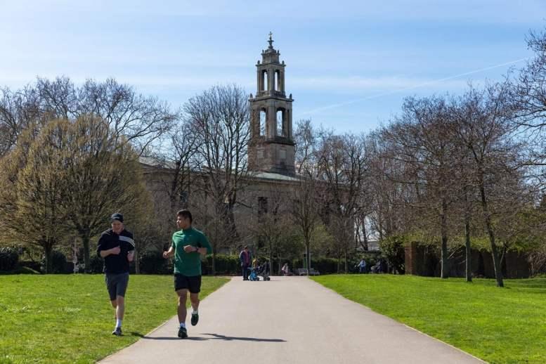 Burgess Park run