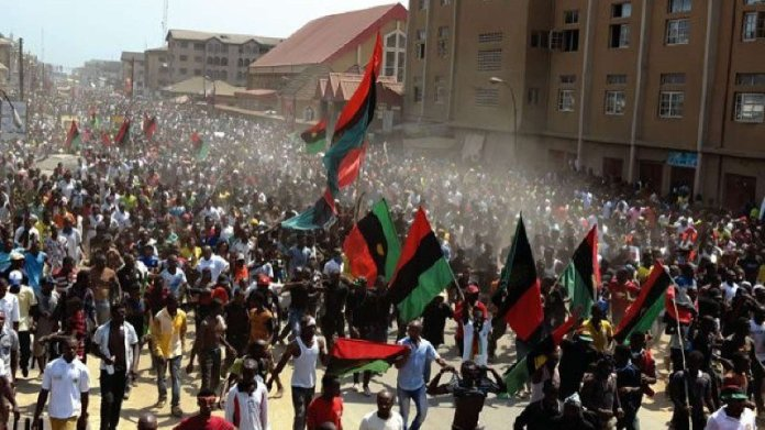 Nnamdi kanu calls out police for removing cctv camera