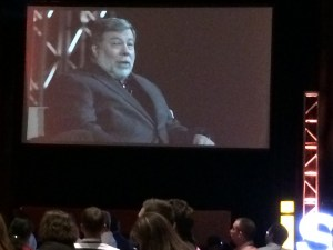 Steve Wozniak, keynote speaker at #ISUM14