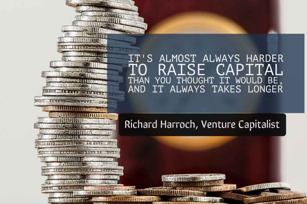 It is hard to raise venture capital