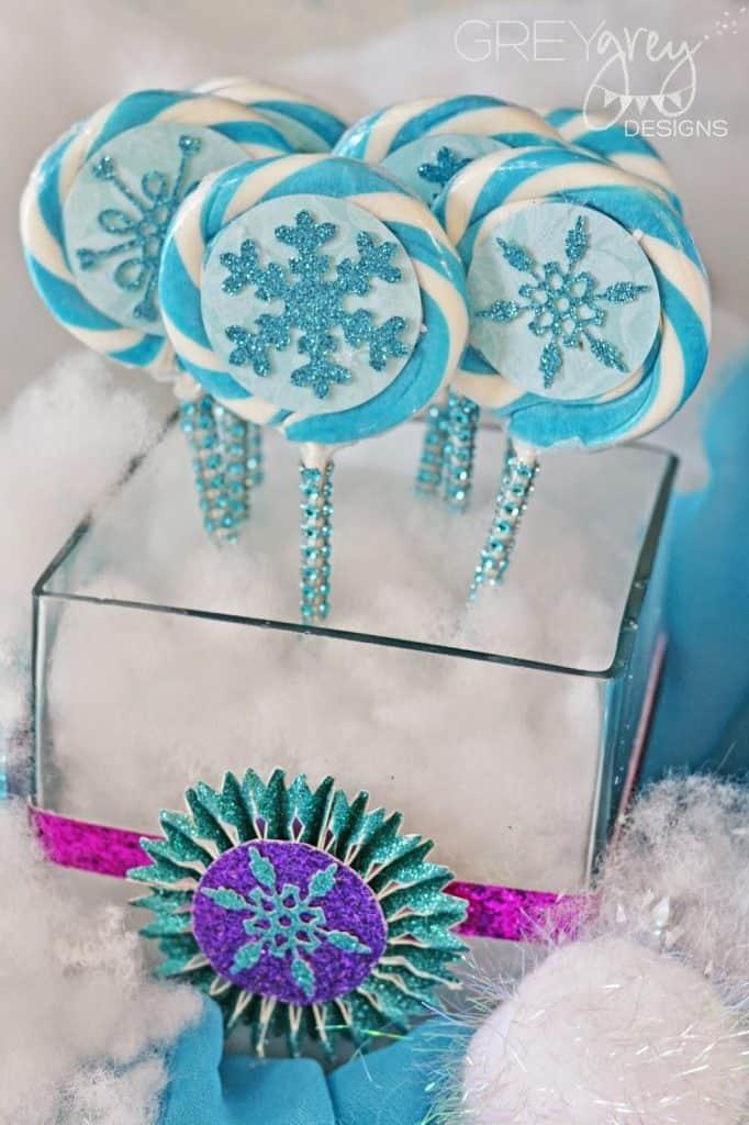 Centro de mesa Frozen ideias para festa infantil  Blog