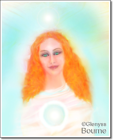 Lady Venus painting
