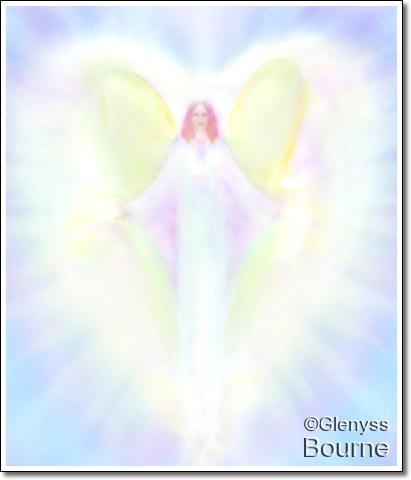 Archangel Sophia painting