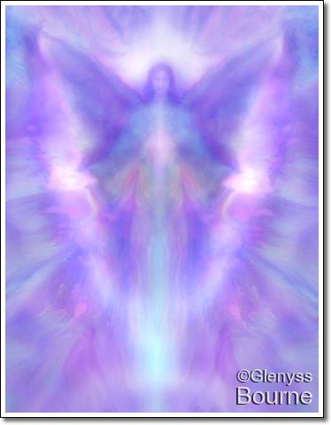 Angel of Mercy, Archangel Jeremiel painting