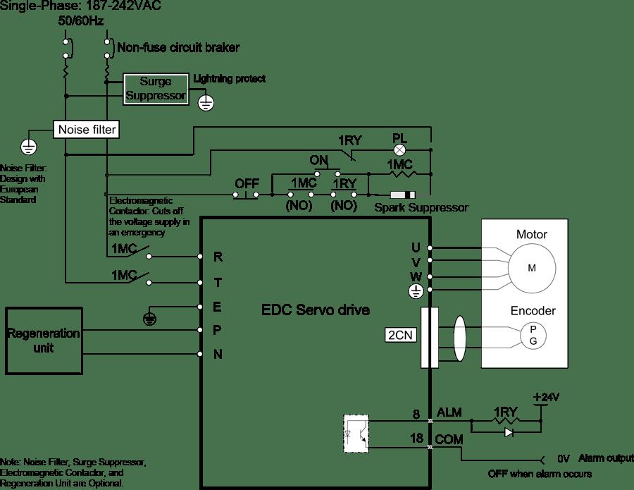 Servo Motor Wiring Diagram : Dc servo motor wiring diagram efcaviation