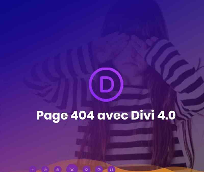 Page 404 Divi