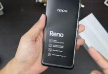 Spesifikasi Oppo Reno RAM 6GB