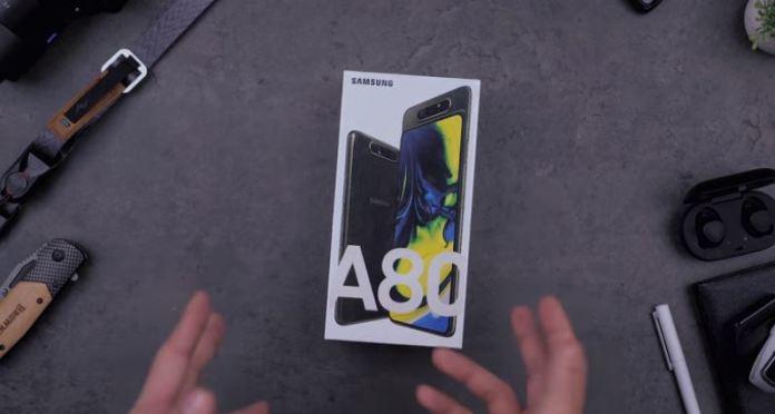 Spesifikasi Samsung Galaxy A80 RAM 8GB