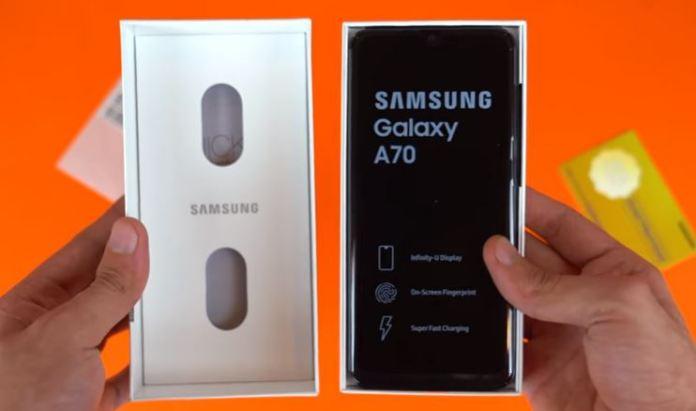 Spesifikasi Samsung Galaxy A70 RAM 6GB dan 8GB