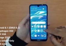 Spesifikasi Huawei Y7 Pro 2019 RAM 3GB