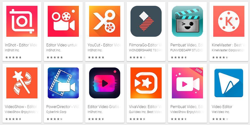 Aplikasi Edit Video Android Tanpa Watermark Terbaik Untuk Pemula Anakdagang