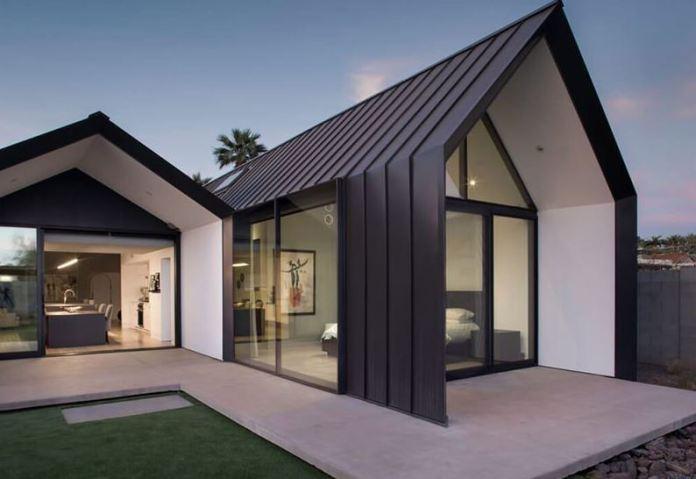 Rumah Minimalis dari Kayu