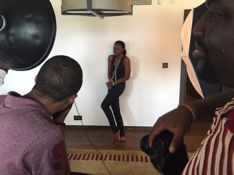 Photoshoot for the Stand To End Rape campaign - Anakle