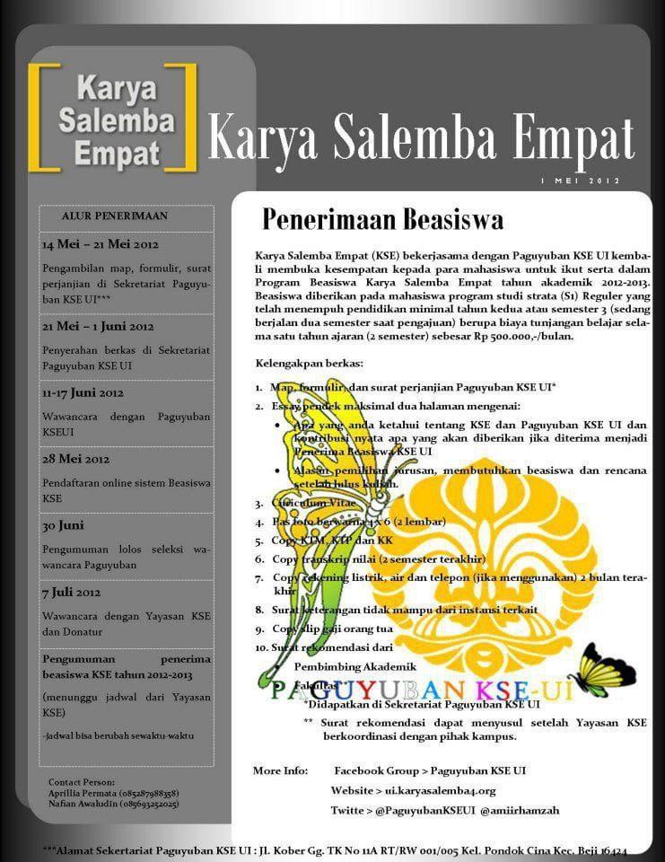 Beasiswa Karya Salemba Empat