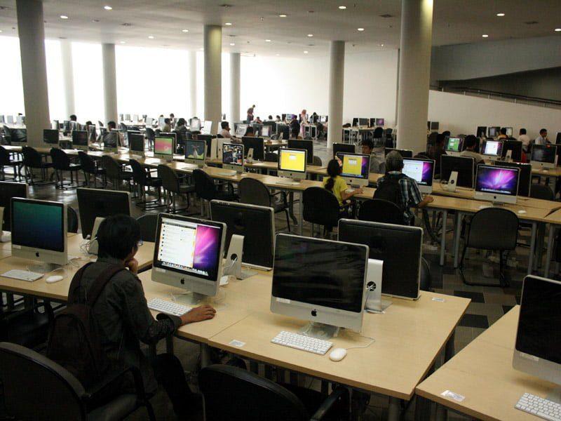 Gedung Perpustakaan Baru Universitas Indonesia (UI)