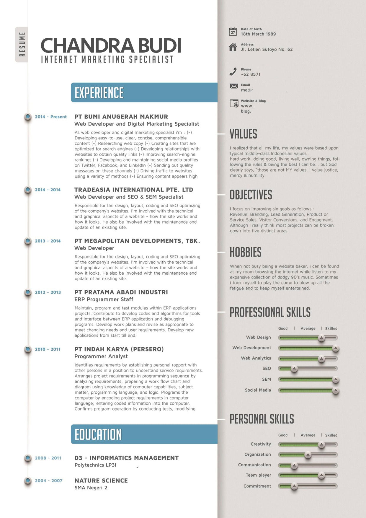 Cv-template-in-south-africa-mpriudgw.png (1240×1754)  CV  Pinterest