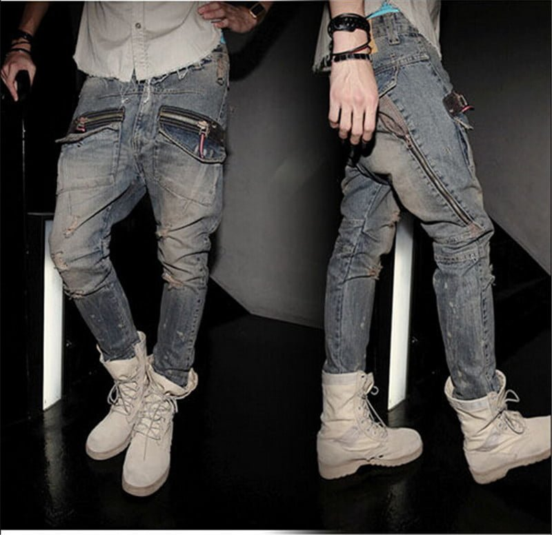 Jeans beraksesoris berlebihan? Big NO! via aliexpress