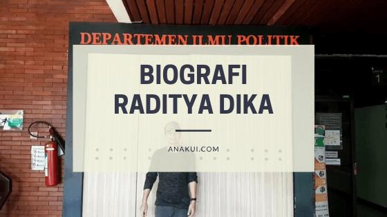 Biografi Raditya Dika