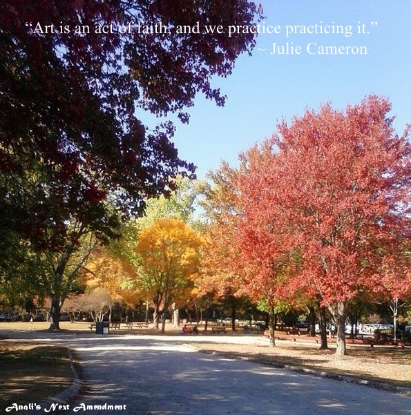 quote and fall foliage
