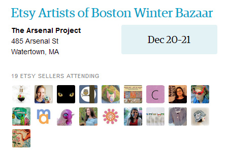 Etsy Artists of Boston