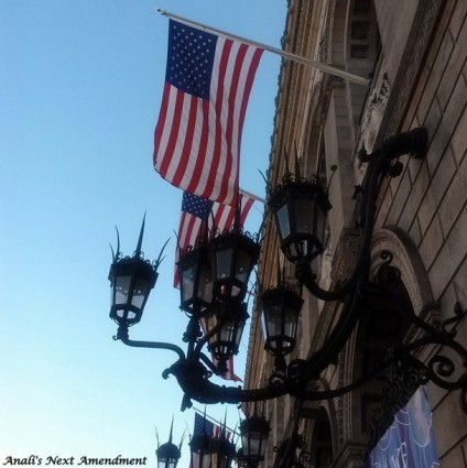 American Flags at BPL