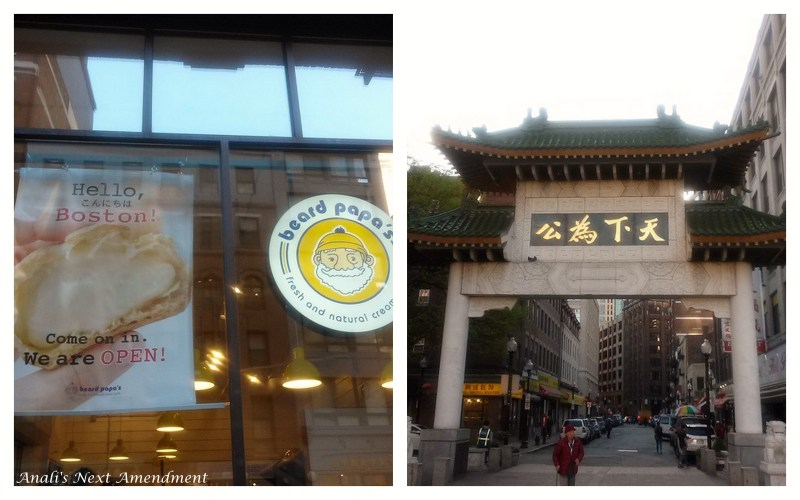 Beard Papa's in Boston's Chinatown