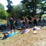 Afro Flow Yoga: Schoolmaster Hill in Franklin Park