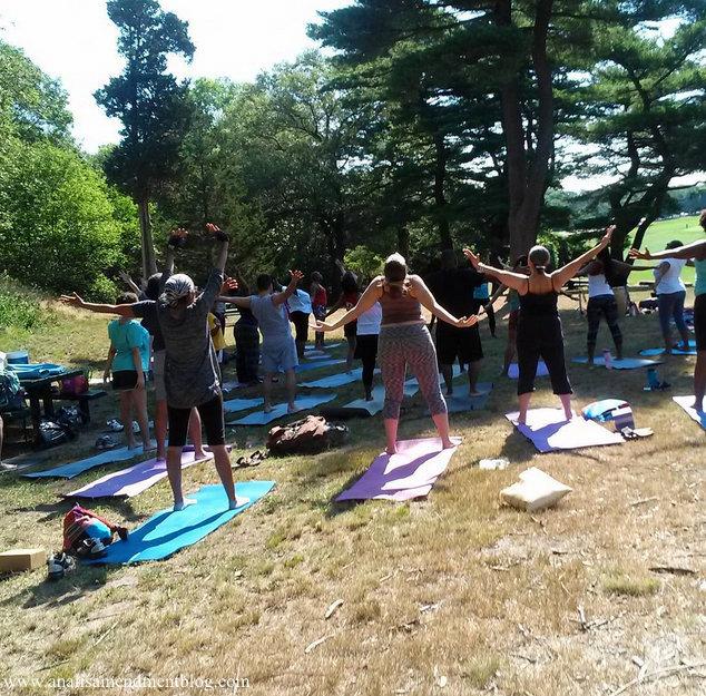 Schoolmasterhill yoga class
