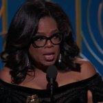 Oprah's Cecil B. de Mille Award Golden Globes Speech