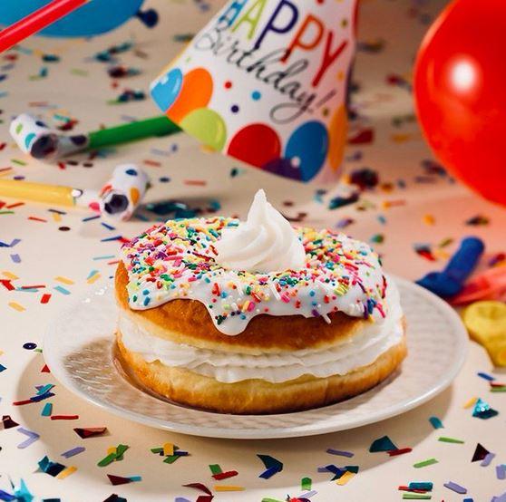 Leap Year Birthday Donut