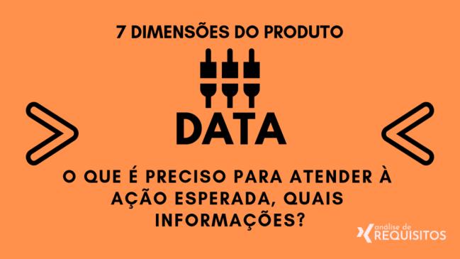 DATA: O que é preciso para atender à ação esperada, quais informações?