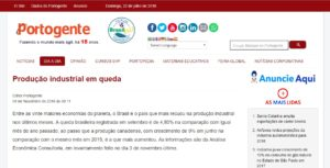 Participação da Análise Econômica Consultoria no Portal Portogente