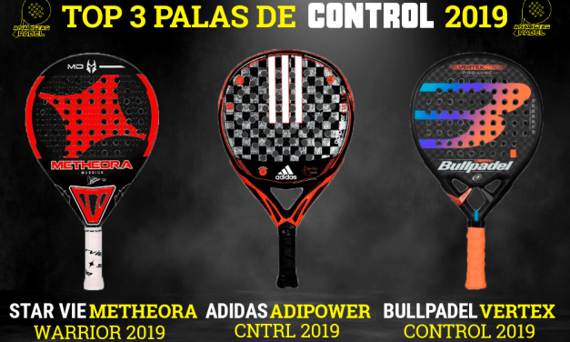 3 MEJORES PALAS DE CONTROL 2019