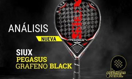 SIUX PEGASUS GRAFENO BLACK, LA SUCESORA DE LA SIUX PEGASUS LUXURY