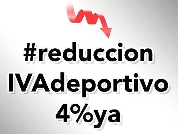 Reducción IVA DEPORTIVO